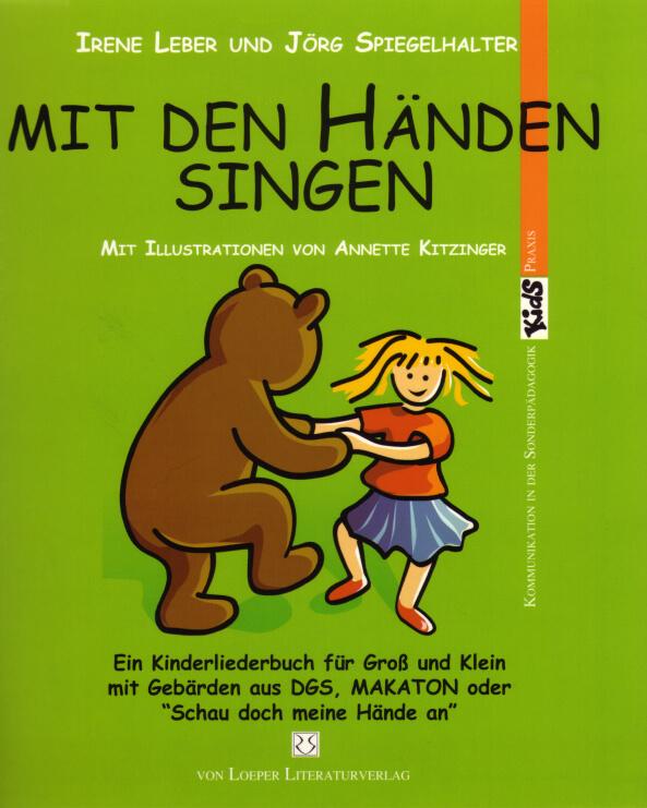 Gebärden-Liederbuch: Mit den Händen singen – wieder lieferbar